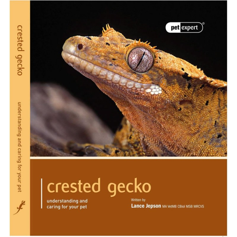 Crested Gecko book by Pet Expert - Understanding and caring for your pet