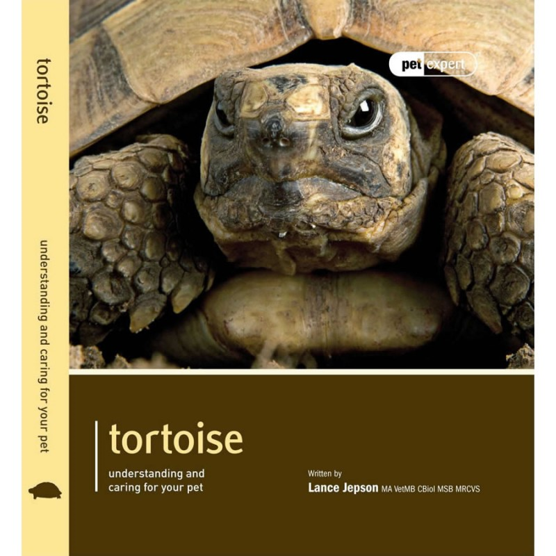 Tortoise book by Pet Expert - Understanding and caring for your pet