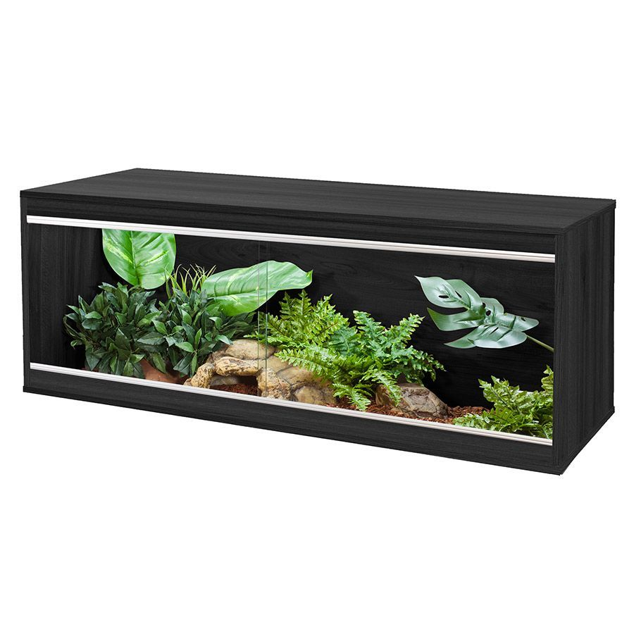 Viv Exotic Repti-Home Large Black Vivarium, PT4133